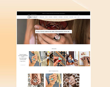 shopify web development portfolio image