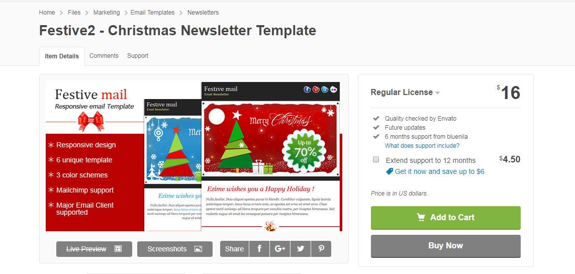 festive2-christmas newsletter template