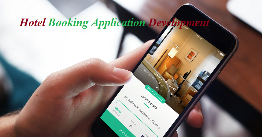 Hotel booking application development services