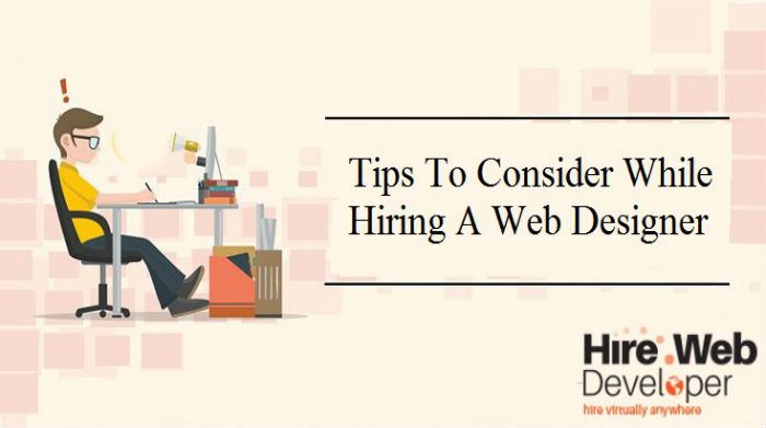 Points To Consider When Hiring a Web Designer